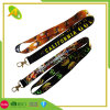 Custom Logo Sublimation Heated Transfer Neck Nylon Woven Polyester Printing Lanyard for Promotional Gift (001)