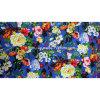 100% Spun Rayon Printed Stocklot Fabric, Rayon Viscose
