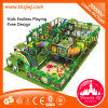 Unique Design Shopping Mall Indoor Playground Structures with Big Slide