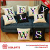 Hot Selling House Decorative Letters Print LED Light Throw Pillow Cushion