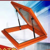 Aluminum Frame Tempered Glass Skylight with Motor Control