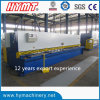 QC11Y-4X6000 hydraulic guillotine shearing and cutting machine