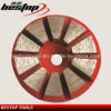 Beveled 10 Grinding Segments Stone Grinding Disc for Floor Grinder