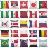 PP Cotton Filling National Flag Pillows Cushions for Sale