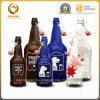 Empty 500ml Carbonated Blue Beer Glass Bottle with Ez Cap (832)