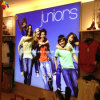 Retail LED Light Box with Backlit Graphic UV Printing