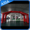 Customized Advertising Inflatable Arch with Magic Tape Logo