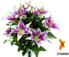 Artificial/Plastic/Silk Flower Tiger Lily Bush (2724005)
