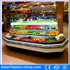 Vertical Upright Multideck Open Display Vegetable Chiller for Store