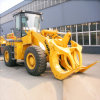 World 3t Wheel Loader with Wood Log Grapple