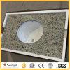 Professional Factory Prefab Brazil Giallo Santa Cecilia Granite Bathroom Vanity Tops