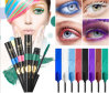Huamianli Colorful Mascara 8 Color Non-Blooming Waterproof Cosmetic Mascara