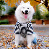 Wholesale Customized Jumpsuits Striped Pet Clothes