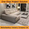 Khaki Color Modern Sofa for Your Living Room