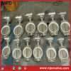 Cast Iron Centre Sealing Wafer Type Butterfly Valve