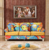 Customized Logo Printed Promotional Classical Sofa