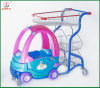 Shopping Mall Use Kids Auto Trolley Shopping Carts (JT-E17)
