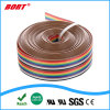UL2468 10pin Wire Rainbow Color Flat Ribbon Cable IDC Wire Cable