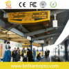 Single Yellow LED Screen for Station Announcement (P10)