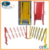 Temporary Portable Extensible Plastic Crowd Control Barrier