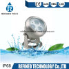 RGB Full Color 6W IP68 Stainless Steel LED Underwater Spotlight Fountain Light