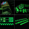 Directional Photo Luminescent for Fire Safety Exit Sign Right Arrow