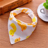New Design Fashion Colorful Baby Bandana Bibs 100% Organic Cotton