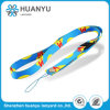 Customized Logo Polyester Heated Transfer Neck Lanyard for Cell Phone