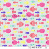 Lovely Fishes Printing for Girls Swimwear 80%Nylon 20%Spandex Fabric