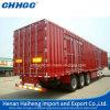 Box/Van Caogo Semi Trailer/Steel Box Commercial Vehicle