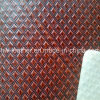 PVC Leather Fabric with Kintted Backing Hw-876