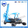 Hydraulic Highway Guardrail Piling Driver Equipment for Post Installation