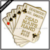 Playing Card Poker Metal Pin for Gift (BYH-10055)