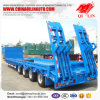 Four Axles 80ton Capacity Low Loader for Tanzania Market