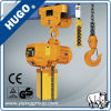 Two Floors Height 12 M Capacity 1 Ton Table Chain Hoist with Trolley