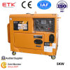 Yellow Digital Panel Diesel Genset (KDE7000TA)