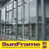 Aluminium Curtain Wall System with Semi-Expose Frame