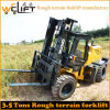 Welfit 3.5t Rough Terrain Forklift with Yanmar Engine