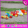2015 Interesting Eco-Friendly Kids Wooden Mini Car Toy, Different Kinds of Wooden Toy Car, Custom Cartoon Wooden Toy Car W04A162