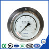 Front Fronge Precision Manometer Pressure Gauge with Back Connection