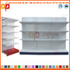 Factory Customized Single Sided Metal Supermarket Display Shelving (Zhs552)
