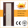 Modern Designs Interior PVC Toilet Door (SC-P191)