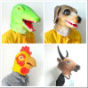 Fashion Party Mask, High Quality Latex Costume Masquerade Horse Head Mask (Brown)