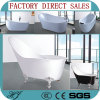 2016new Design European Style Relaxation Acrylic Bathtub Soakoing Bath Tub (621)
