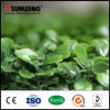 Decorative Indoor Plastic Hedge Fence Artificial Leaves