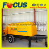 High Quality Delivery Capacity 81m3/H- 88m3/H Diesel Concrete Trailer Pump
