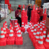Soft PVC Traffic Safety Road Cones Cheap Real Supplier