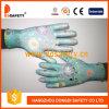 Ddsafety 2017 13 Gauge Polyester Blue Flower Printed Gloves
