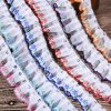 High Quality 3cm Ruffles Sequins Lace for Garment Accessories