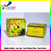 Hot Stamping Flower Printing Paper Folded Card Box for Cosmetic